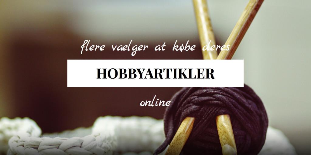Flere vælger at købe deres hobby-artikler online