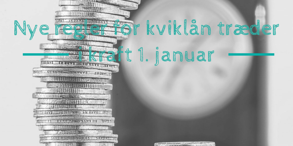 Nye regler for online kviklån træder i kraft 1. januar