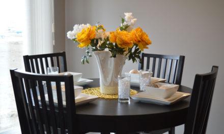 Hvorfor du skal vælge et rundt spisebord