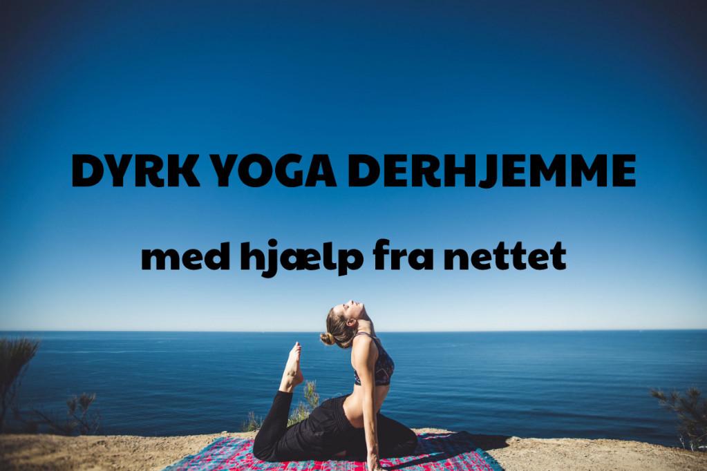 Dyrk yoga derhjemme med hjælp fra nettet